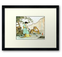 """Beauty and Beast""  Framed Print"