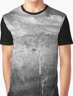 Sawgrass prairie and Cypress Island Graphic T-Shirt