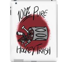 100% Pure Hockey Trash (Deep Red) iPad Case/Skin