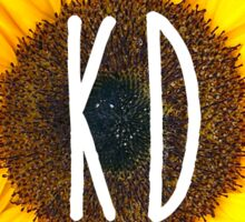 kd sunflower Sticker
