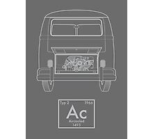 Aircooled Element - '66 Bus Photographic Print