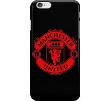 Manchester United Red & Black iPhone Case/Skin