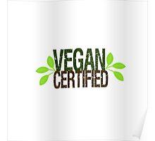 Vegan Certified Poster
