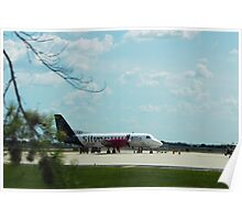 Turbo Prop Commuter Plane Poster