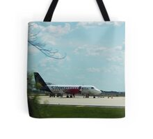 Turbo Prop Commuter Plane Tote Bag