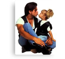 Uncle Jesse and Michelle Tanner Canvas Print
