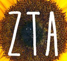 zta sunflower Sticker