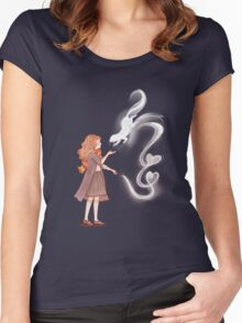 Be My Patronus Women's Fitted Scoop T-Shirt