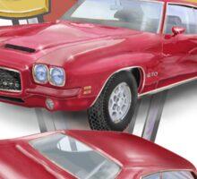 1971 GTO - The Tiger Sticker