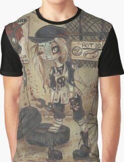 Asylum Par: The Motor Shop - zombie girl Graphic T-Shirt