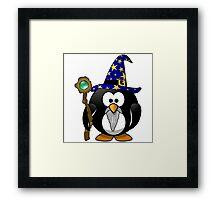 Penguin Warlock OZ Framed Print