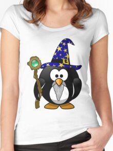 Penguin Warlock OZ Women's Fitted Scoop T-Shirt