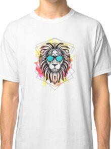 Ornate Watercolor Lion Classic T-Shirt