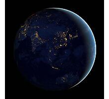 GLOBAL NIGHT Photographic Print