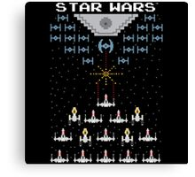 Pixel Wars Canvas Print