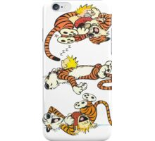 Calvin and Hobbes Cute  iPhone Case/Skin