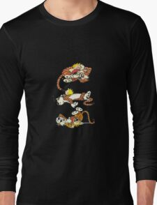 Calvin and Hobbes Cute  T-Shirt