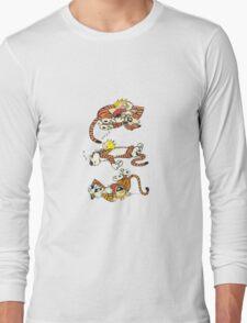 Calvin and Hobbes Cute  Long Sleeve T-Shirt