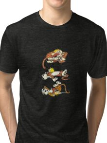 Calvin and Hobbes Cute  Tri-blend T-Shirt