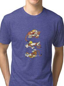Calvin and Hobbes Cute  Tri-blend T-Shirt