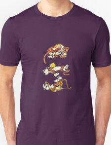 Calvin and Hobbes Cute  Unisex T-Shirt