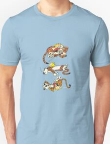Calvin and Hobbes Cute  Unisex T-Shirt