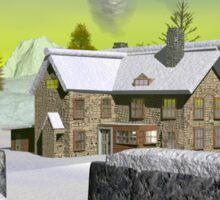 Winter Estate Sticker