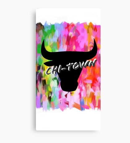 Majestic Bulls Canvas Print
