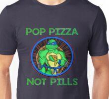 Turtle Pop Pizza Not Pills Unisex T-Shirt