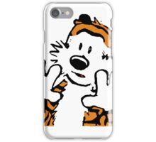 Hobbes Alone iPhone Case/Skin