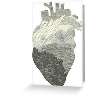 Mountains in my heart Greeting Card