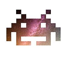 Galaxy Space Invader #2 Photographic Print