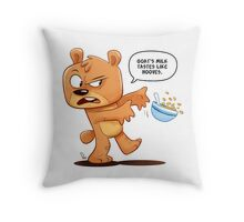 Hooves Throw Pillow
