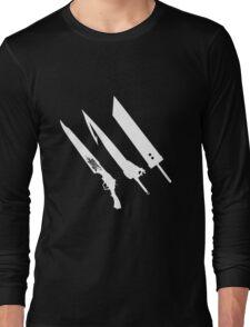 Final Fantasy Swords Long Sleeve T-Shirt