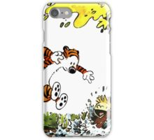 Calvin and Hobbes Playground iPhone Case/Skin