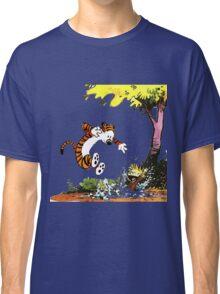 Calvin and Hobbes Playground Classic T-Shirt