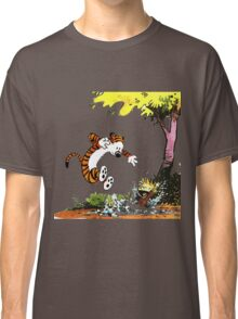 Calvin and Hobbes Playground Classic T-Shirt