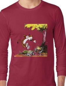 Calvin and Hobbes Playground Long Sleeve T-Shirt