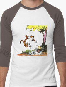 Calvin and Hobbes Playground Men's Baseball ¾ T-Shirt