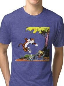 Calvin and Hobbes Playground Tri-blend T-Shirt