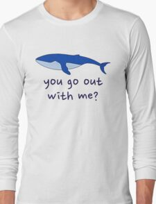 whale you go out with me T-Shirt