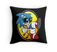 Sonic Chill Throw Pillow