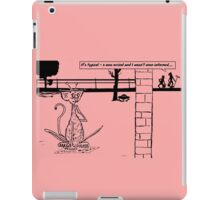 Zoo Humour - Cartoon 0017 iPad Case/Skin