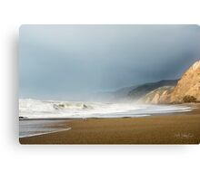 Alamere Falls Beach at Pt. Reyes National Seashore Canvas Print