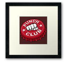 Punch Club Framed Print