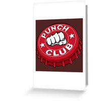Punch Club Greeting Card