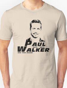 See You Again Paul Walker T-Shirt
