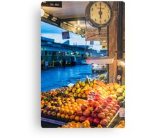 Fruit for Sale at Pike Place Market Metal Print