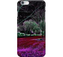 Autumnal Reversography iPhone Case/Skin