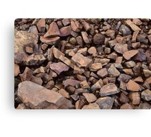 Literally a pile of rocks Canvas Print